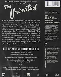 com the uninvited criterion collection blu ray ray com the uninvited criterion collection blu ray ray milland ruth hussey donald crisp lewis allen movies tv