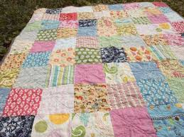 Plum and June: The First Blog Hop News and a Simple Patchwork Quilt & The First Blog Hop News and a Simple Patchwork Quilt Adamdwight.com