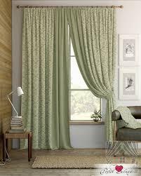 Классические шторы tera цвет: зеленый <b>томдом</b> из портьерной ...