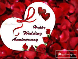 To A Beautiful Couple Happy Anniversary Card Chacha And Chachi
