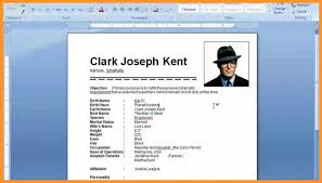 How To Make A Resume On Word Unique How To Create Resume On Word Templates Awesome A Make 28 Template