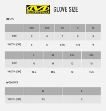 Mechanix Wear Glove Size Chart Mechanix Wear Glove Sizing Chart Images Gloves And