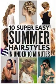 Looking For Simple And Easy Summer Hairstyles To Keep You Cool On