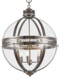 victorian hotel 6 light 24 satin nickel pendant light with led bulbs