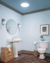 powder room lighting ideas tubular skylight pedestal sink wall sconces