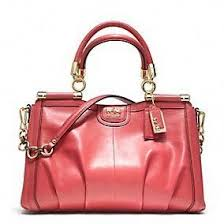 Coach    New Madison Pinnacle Leather Carrie