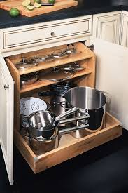 Base Pots and Pans Organizer - Diamond Cabinetry