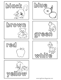 This is a collection of free, printable worksheets for teaching esl students cvc words. Color Worksheets Sight Words Reading Writing Spelling Worksheets
