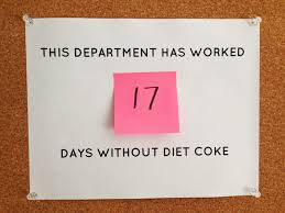 Image result for no diet coke