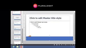 Powerpoint Custom Templates Creating Templates In Powerpoint 2013 Youtube