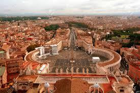 Carré Stpeters Cité Du Vatican Rome Italie