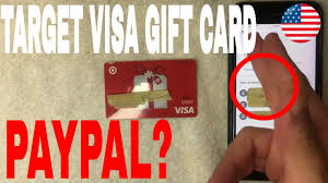 Scroll over it and click add or edit credit card. click add card. Can You Use Target Debit Visa Gift Card On Paypal Youtube