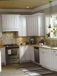 Decals For Kitchen Cabinets Kitchen Backsplash Ideas With Off White Cabinets Home Design Ideas