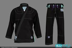 Inverted Gear Size Chart Inverted Gear Bamboo Gi Black Bjjhq