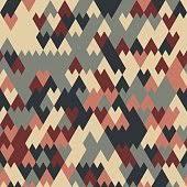 pillow texture seamless. Vector Modern Seamless Geometry Pattern Triangle Pillow Print, Retro Texture R