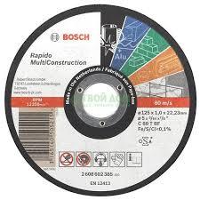 <b>Отрезной круг Bosch</b> 2608602383