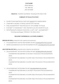 Career Change Resume Templates Career Change Resume Templates Career ...
