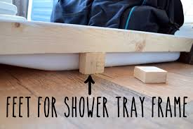 shower tray feet
