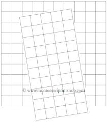 One Inch Graph Paper 1 Inch Square Graph Paper Graph Paper 1 Inch Squares Printable