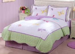 elegant twin girl bedding best of purple green erfly dragonfly bedding little girls full queen and