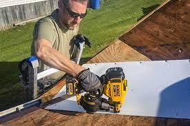 dewalt 20v max cordless roofing nailer