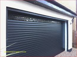 insulated gliderol roller garage doors installed with vision slats to allow light to enter the garage