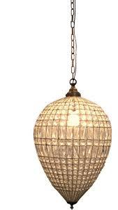 paris drop chandelier silver glass extra large