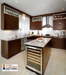 Wenge Wood Kitchen Cabinets Un Cuisine En Wenge Un Placage De Bois Exotique Et Limpact