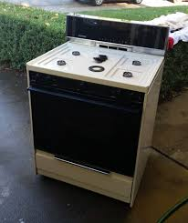 Oven Gas Stove Tappan Free Standing Gas Stove Oven Youtube