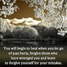 How To Forgive Yourself Quotes Best Of Learn To Forgive Yourself For Your Mistakes Quote Picture