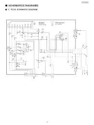 samsung tv wiring diagram beautiful tv panasonic tc 21 fj30la related post