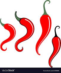 chili pepper vector.  Chili Chili Pepper Vector Image Inside Vector I