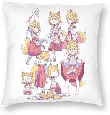 Great news!!!you're in the right place for anime kawaii pillow. Amazon Com Bakugou Anime Kawaii Cute Senko San Collage Square Pillow Cowers Home Bed Room Interior Decoration 5 Sizes Home Kitchen