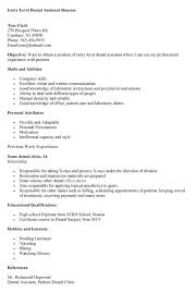 examples of dental assistant resumes 31052017 certified dental assistant resume