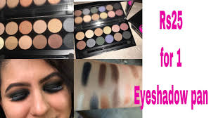 25 र पय क 1 eye shadow swiss beauty best affordable eyeshadow palette india matte and metallic