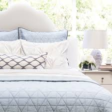 blue quilt bedding. Interesting Quilt Bedroom Inspiration And Bedding Decor  The Diamond BoxStitch Light Blue  Quilt U0026 Sham With Bedding