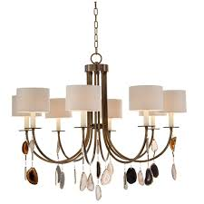 John richard lighting Crystal John Richard Falling Agate Eightlight Chandelier Chandeliers Benjamin Rugs Furniture Benjamin Rugs Furniture John Richard Falling Agate Eightlight Chandelier Chandeliers