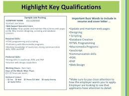 Preferred Skills List Resume Qualifications List For A Your Educational Spacesheep Co