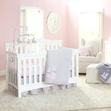 bunny crib bedding koala baby sweet bunny 4 piece crib bedding set gray pink bunny nursery bunny crib bedding