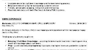 Sample Bartender Resume Bartender Resume Example Bartending Resume Examples Example 70