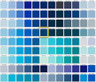 15 Shades of Blue