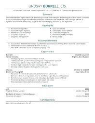Example Of Entry Level Resume Objective Resume Samples Paralegal