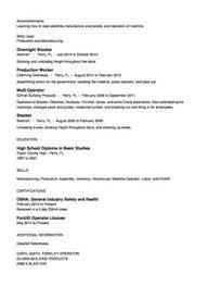 ... Bright Idea Stocker Resume 6 Overnight Stocker Resume Sample ...