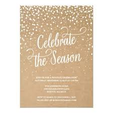 First Snow Holiday Party Invitation Christmas Holiday Party