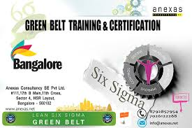 Lean Six Sigma Green Belt Training And Certification Register