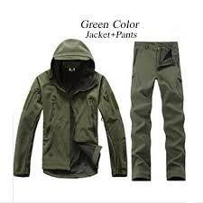 12 Color Tactical <b>TAD</b> Gear Shark Skin Soft Shell Camouflage ...