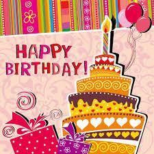 Funny Cartoon Happy Birthday Cards Vector Free Vector In