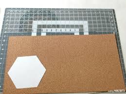 Velcro Memo Board Delectable Easy DIY Hexagon Cork Memo Boards Making Manzanita