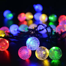 whole 20 clear outdoor globe festoon party led ball connectable string fairy light led lights fairy wedding garden garland outdoor string