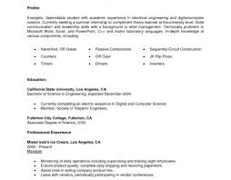 College Resume Templates Undergraduate Research Assistant Sample